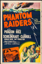 Phantom Raiders 1940 DVD - Walter Pidgeon / Donald Meek